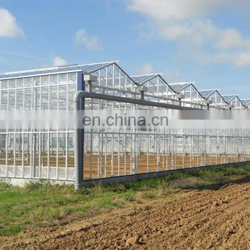 long life galvanized steel frame greenhouse