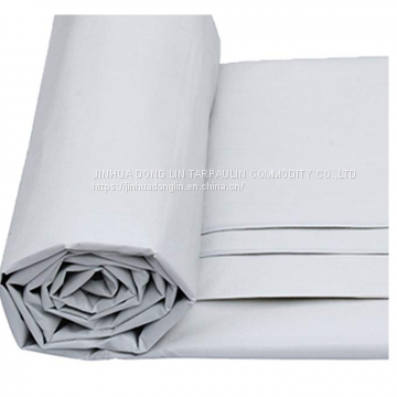 Waterproof Canvas Tarps High Quality Blue / Silver