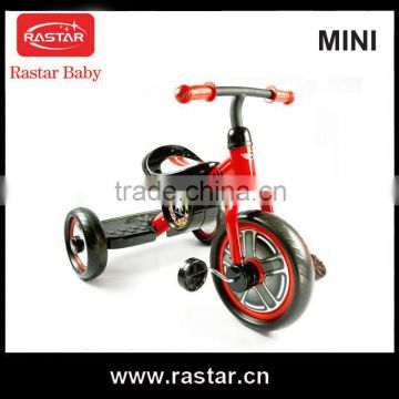 RASTAR MINI licensed Hot selling Plastic children playing tricycle baby tricycle
