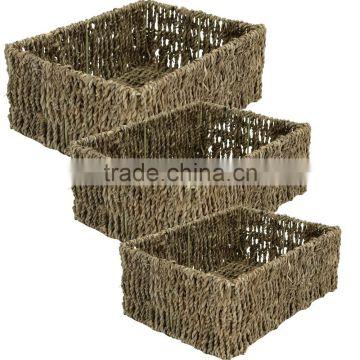 Rectangular Seagr Baskets