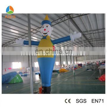 Mini inflatable air dancer