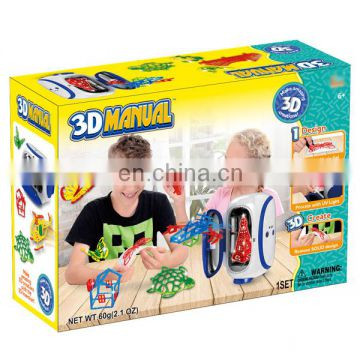 Hot selling plastic novel items 3d printer diy toy game with specification