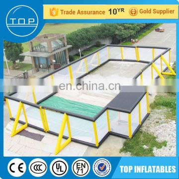 New design cheap paintball wall bunker inflatable bunkers for kids and adults