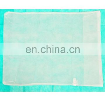 Disposable pp Non woven white pillow cover for hospital