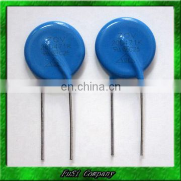 20D270K 20mm Radial Lead ZOV 20D Series Metal Oxide Varistor