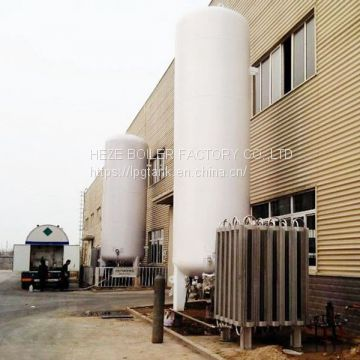 Chemical plant use liquid oxygen tank nitrogen storage tank cryogenic tank