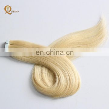 Hair Extensions Sticker Skin Weft 26 inches 40g/pack PU Tape Glue Skin Weft 100% European Remy Human Hair Tape Hair Extension