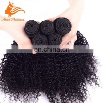 7A Cambodian Hair Bundles Virgin Humna Kinky Curly Hair Weave Factory Best Quality Stretching For Hair