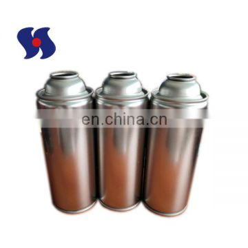 High Pressure 65*158mm Clear Lacquered Aerosol Tin Can
