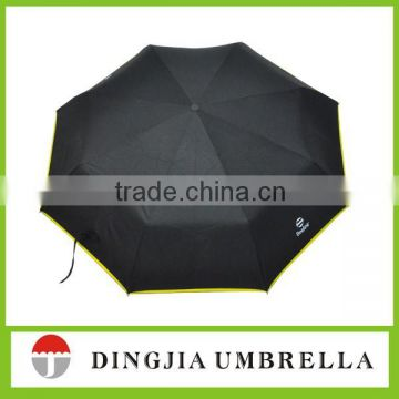 strong auto open auto close 3 folding umbrella