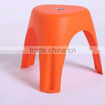 plastic foldable outdoor chair with iron feet