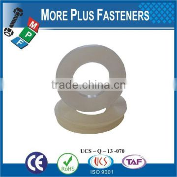 Made in Taiwan high quality PVC Washer nylong washer plastic washer
