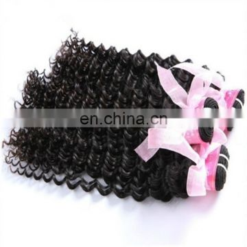 Quality deep wave virgin peruvian human hair