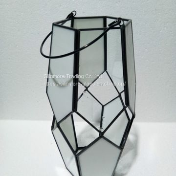 glass geometric lanterns