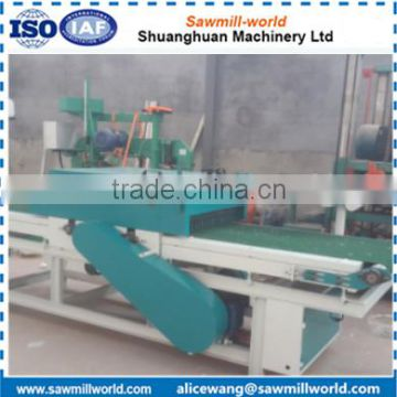 wood processing twin blade board edger machine made in Shandong China