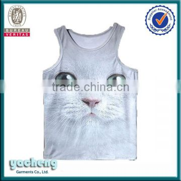 3493cb248249f1 sublimation printing tank top men china export clothes wholesale gym vest  custom 3d printing man vest wholesale men apparel of Vest   Tank Tops from  China ...