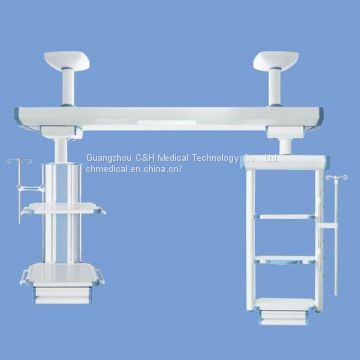 Ceiling Mounted Medical Gas Supply Rail Type Pendant Columns for ICU
