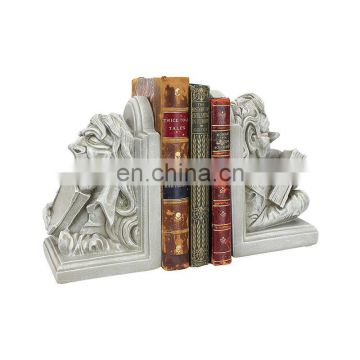 Custom Home Decoration Items Study Bookend Resin Statue