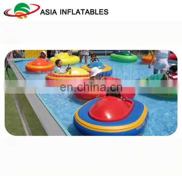 Kids Water Park Inflatable Electric Bumper Boat Equipment