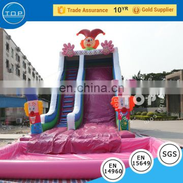 Guangzhou TOP inflatable toy slide with poor for sale