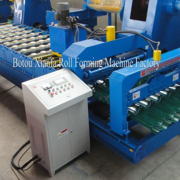 steel tile roofing roll forming machine