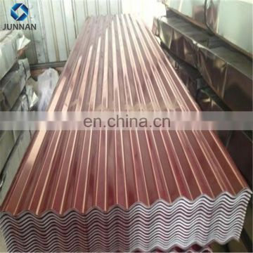 Aluminum Zinc Coated Galvanized Corrugated Roofing Sheet/arch corrugated steel roof/corrugated steel retaining wall