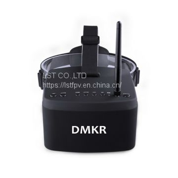 EV800 5 Inches 800x480 FPV Goggles Video Glasses 5.8G 40CH Raceband Auto-Searching Build in Battery