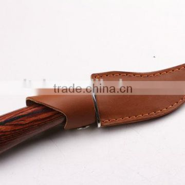 OEM Custom Hand Made Damascus Steel Hunting Knife With Cocobolo