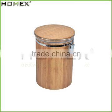 Eco Kitchenwares Environmental Bamboo Fiber Canister With Bamboo Lid/Homex_Factory