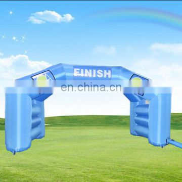 advertising inflatable finish line arch