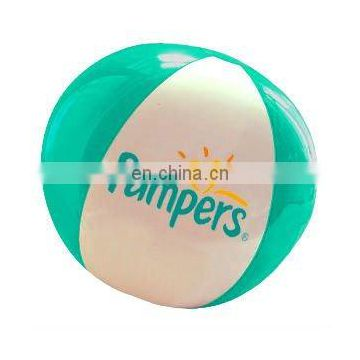 Inflatable beach ball with logo printing