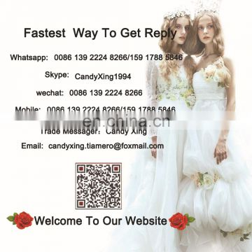 1A175cx 2015 High Collar Lace Palace Wedding Dress/Real Picture Show Bridal Wedding Dress Court Train Europe and America 2105