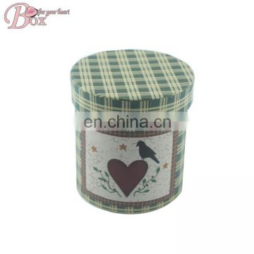 Cylinder High quality Art Paper Storage Box
