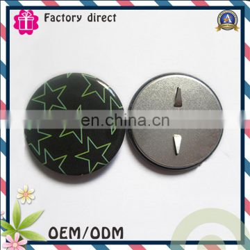 foshan factory pin button suit badges with logo