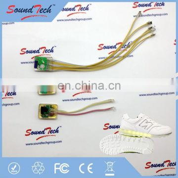 New Style shoes parts led shoes factory, customized led shoes, led shoes high top