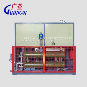 120KW electric thermal oil heater with cooling units