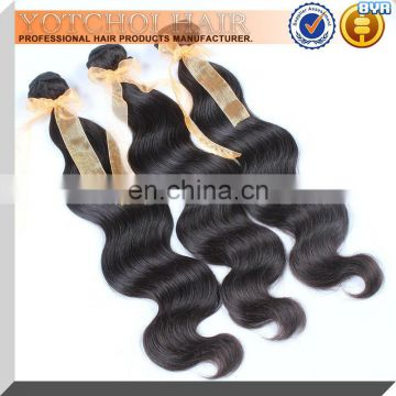 Yotchoi Hair Products,Unprocessed Mongolian Machine Weft Hair Body Wave, Raw Unprocessed Mongolian Wavy Hair