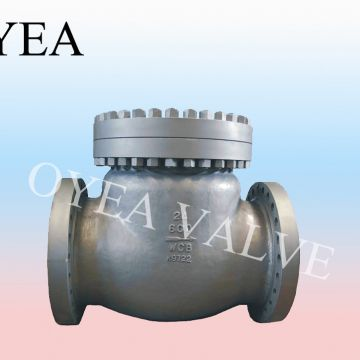 ANSI API Wcb Wc6 Cast Steel Forged Steel High Temperature High Pressure Power Station Check Valve
