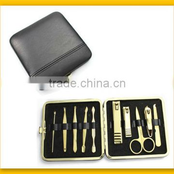 Classical black manicure set