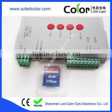 T-1000s digital rgb led pixel controller with SD Card