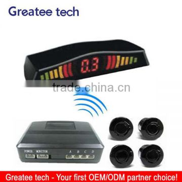 Factory best car wireless LED parking sensor system