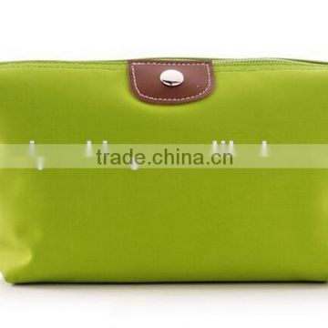 hot sale dumpling shape customized promotion lady cosmetic bag