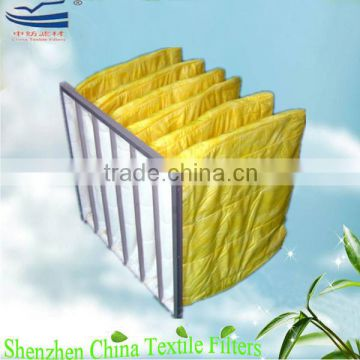 G4,F5,F6,F7,F8,F9 Multilayers polyester filter bag