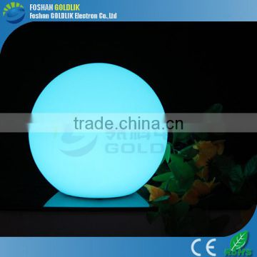 ornamental outdoor christmas led light ball with fashion design and multi color GKB-025RT