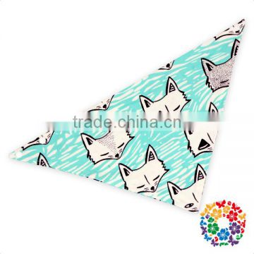 Toddler Boys And Girls Customized Design Many Colors Triangle Drool Bandana Baby Bibs