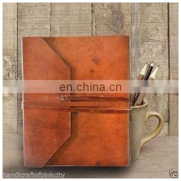Handmade Leather Notebook Vintage Blank Diary Journal Memo Travel Drawing Retro