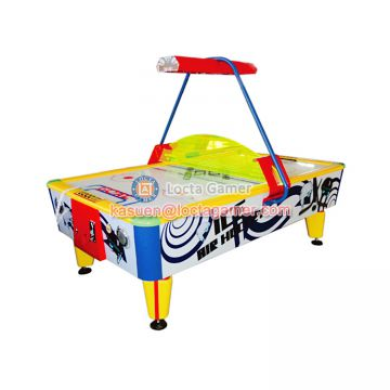 Zhongshan Locta amusement redemption equipment, funny play Ice Air Hockey, 2P game machine for kids, coin operated