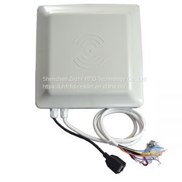 Middle range 0~6m UHF RFID Card Reader with RS232/ RS485/ WG/ TCP/IP interfaces