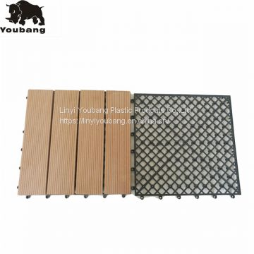 Good quality interlocking plastic base for DIY tiles