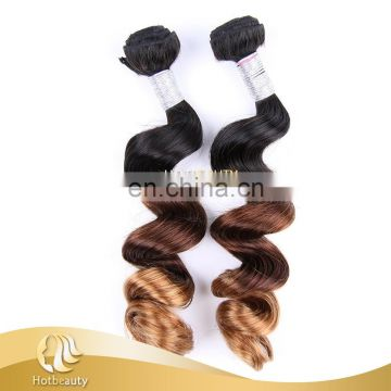 Best price new products facotry sale top quality 100 ombre virgin human hair weaving